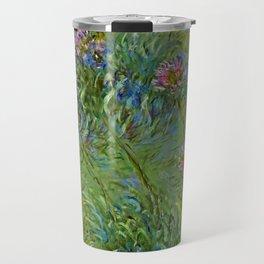 "Claude Monet ""Agapanthus Flowers"" Travel Mug"