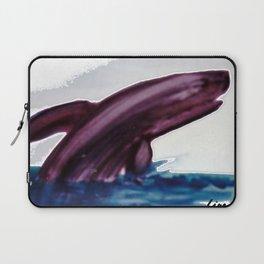 WHALE     by Kay Lipton Laptop Sleeve