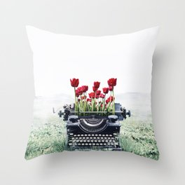 The Poem I Never Wrote Throw Pillow