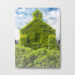 the vegetal house France Metal Print