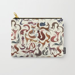 Foxy Pattern Carry-All Pouch
