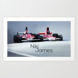 Niki and James Art Print