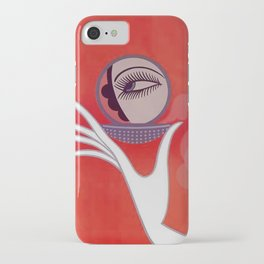 """Art Deco Design """"Compact - Vanities"""" iPhone Case"""