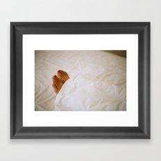Sleeping Framed Art Print