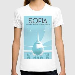 SOFIA Space art poster T-shirt