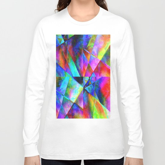 Сomposition geometrical Long Sleeve T-shirt