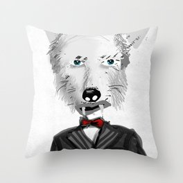 My name is not Harry Haller Throw Pillow