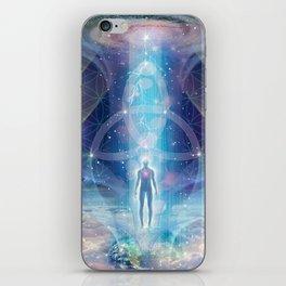 """A Spark of the Creator!"" - Trinity iPhone Skin"