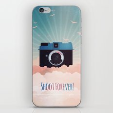 Shoot Forever iPhone & iPod Skin