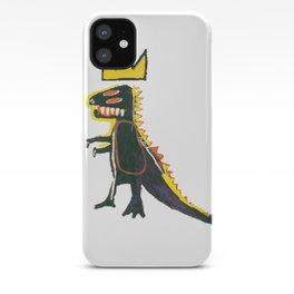 Dinosaur: Homage to Basquiat iPhone Case