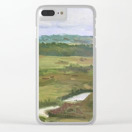 View of the river Urga Clear iPhone Case