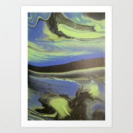 The Mysterious Storm Art Print