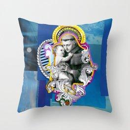 Santo Antônio (Anthony of Padua) Throw Pillow