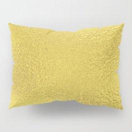 Simply Metallic in Yellow Gold Pillow Sham