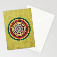 Lost in color Stationery Cards