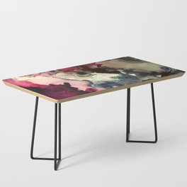 Dark Inks - Alcohol Ink Painting Coffee Table