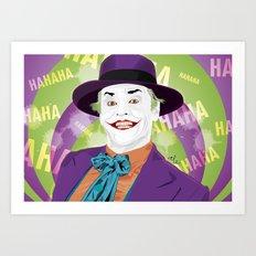 The Joker 1989 Art Print