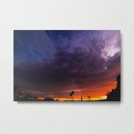NOHO Sunset Metal Print