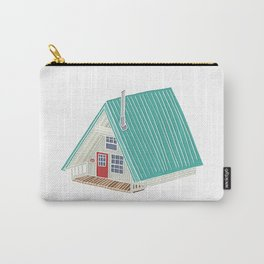 Little A Frame Cabin Carry-All Pouch