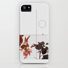 Elegant Abstract Composition - Tropical iPhone Case