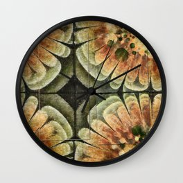 Annexation Constitution Flowers  ID:16165-142226-92271 Wall Clock