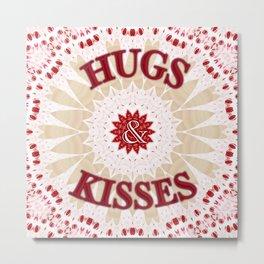'Be my Cupcake Hugs & Kisses' by Angelique G. FromtheBreathofDaydeams Metal Print