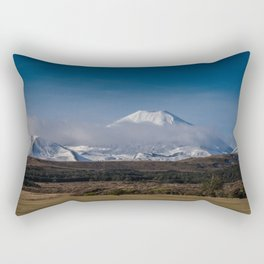 Mt Ngauruhoe Rectangular Pillow
