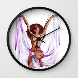 ORBS (white) Wall Clock