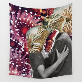 This must be underwater love Wall Tapestry