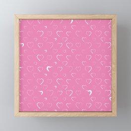 Made for you my heart 14 Framed Mini Art Print