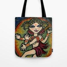 YOGA   Shiva Diva Tote Bag
