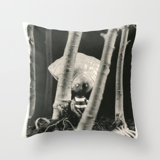 Oyster Boy - tim burton Throw Pillow
