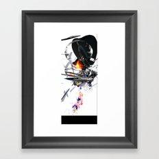FLUGENDETHIRNOMME Framed Art Print