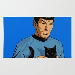 Spock's cat Rug