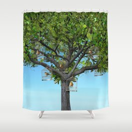 Our Treat Shower Curtain