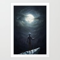 jack frost Art Prints featuring Jack Frost by Westling