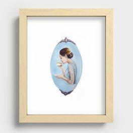 Teatime Recessed Framed Print