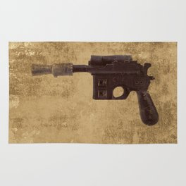 Han Solo Shoot First - Blaster Rug