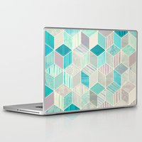 bedding Laptop & iPad Skins featuring Vacation Patchwork by micklyn