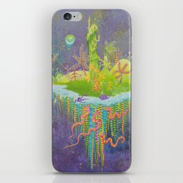Aeolus 's flying island iPhone Skin