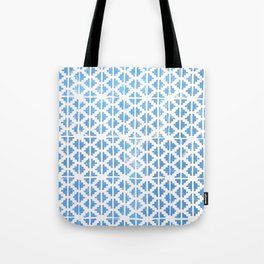 Hand Stamped Pattern  Tote Bag