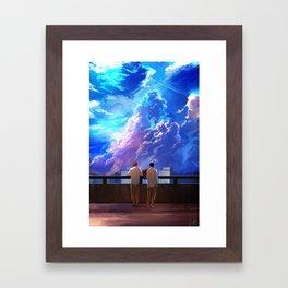 Conversations Framed Art Print