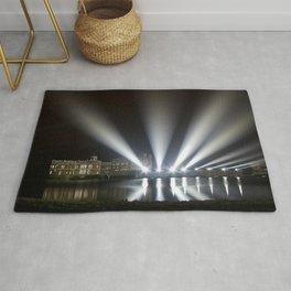 Leeds Castle Laser Light Display Rug