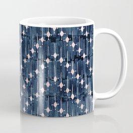 Justina Chevron Ink Coffee Mug