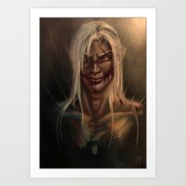 Cairaha Spirit of Death Art Print
