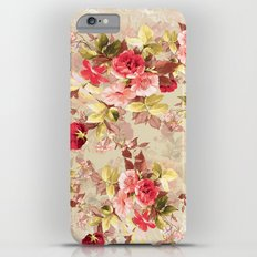 RED ROSE Slim Case iPhone 6s Plus