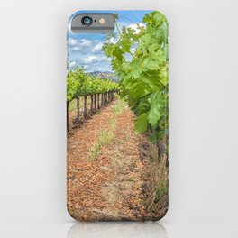 Grapevines in Spring iPhone Case