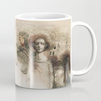 storm Mugs featuring Storm.  by Iris V.