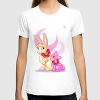 sailormoon T-shirts featuring Moon Rabbits by Becky Hopkins