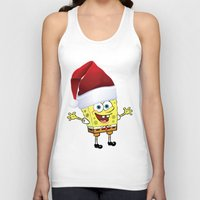 spongebob Tank Tops featuring Spongebob Celebration by Neo Store